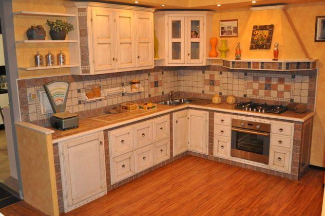 Cucina campagnola lucca cucine artigianali - Rivestimento piano cucina ...