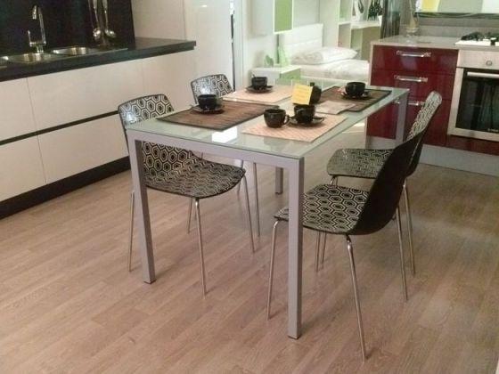 Progetto legno arredamenti lucca arredamenti su misura toscana mobili artigianali in legno - Tavolo e sedie bianche ...
