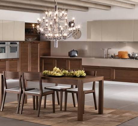 Cucine classiche contemporanee progetto legno for Piani scrivania stile artigiano